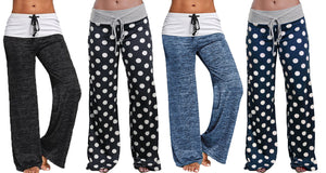 LOUNGE TROUSERS- PLAIN AND POLKA