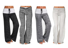 Load image into Gallery viewer, STRIPE LOUNGE TROUSERS