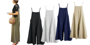 WIDE LEG JUMPSUIT- 5 colours