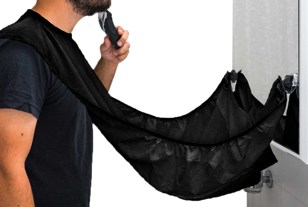 MEN BEARD CAPE AND COMB