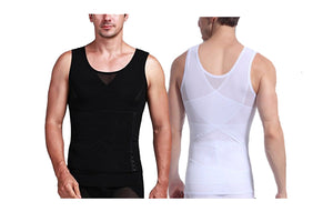 Mens Slimming Vest 2 Style Clearance