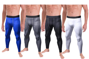MEN'S WORK OUT COMPRESSION PANTS