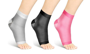 ANKLE OPEN TOE COMPRESSION SOCKS