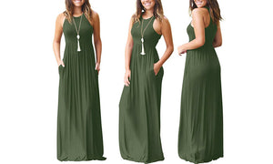 MAXI DRESS - THREE COLOURS