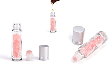 Load image into Gallery viewer, Mother's Day Special- Roll-On rose quartz 10ml bottle+Personal Message Gift