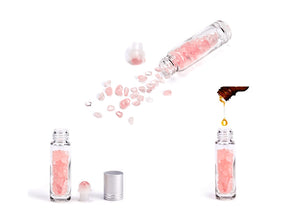 Mother's Day Special- Roll-On rose quartz 10ml bottle+Personal Message Gift