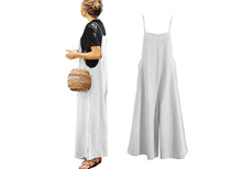 Load image into Gallery viewer, WIDE LEG JUMPSUIT- 5 colours