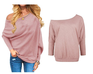 OFF SHOULDER TOP - 5 COLOURS