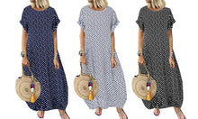 Load image into Gallery viewer, BOHEMIAN POLKA DRESS