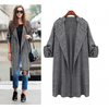 Open-Front Trench Coat