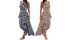 Load image into Gallery viewer, STRIPE MAXI DRESS
