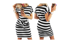 Load image into Gallery viewer, CHIC BELTED MIDI DRESS