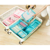 TRAVEL ORGANISER - 6 SET