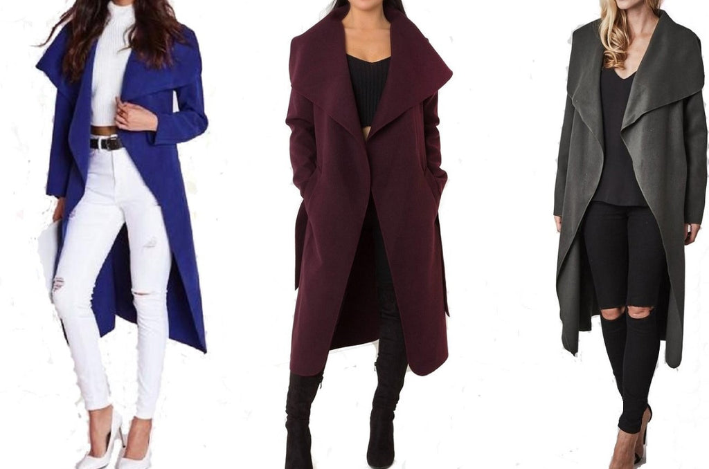 "WATERFALL ""Cashmere Feel"" COAT-JACKET"