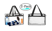 Load image into Gallery viewer, Tote Clear Shopping Storage Beach Bag