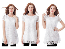 Load image into Gallery viewer, DENTELLE TUNIC DRESS