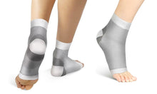 Load image into Gallery viewer, ANKLE OPEN TOE COMPRESSION SOCKS