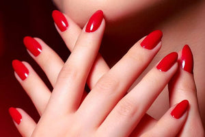 RED BOMBSHELL NAIL PACK