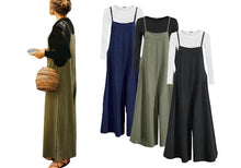 Load image into Gallery viewer, WIDE LEG JUMPSUIT- 3 COLOURS