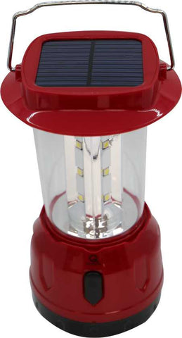 AC & Solar Rechargeable Lantern