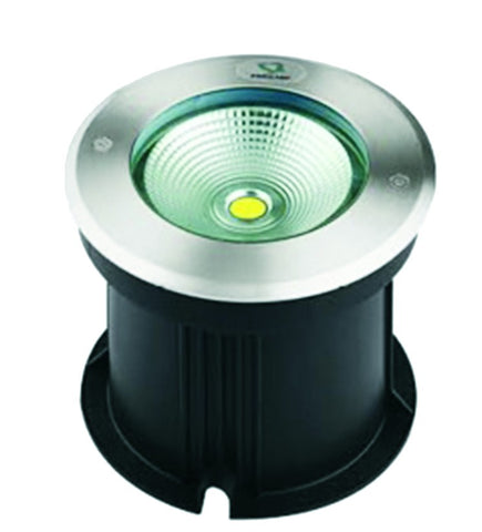 LED Ground Light - 10 Watt Round (IP67)