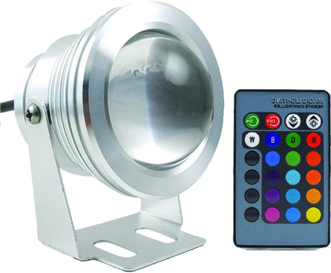 Submersible Pond / Pool Light - 10W RGB (IP68)