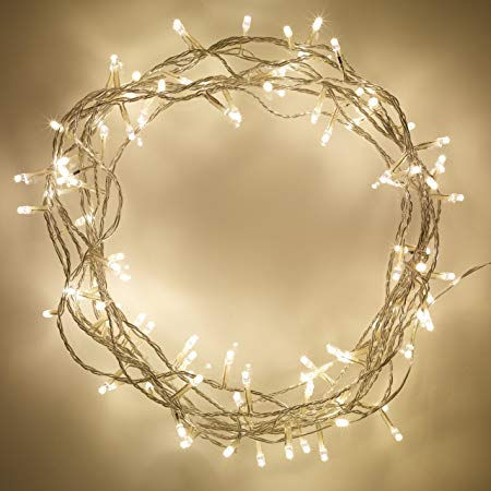 LED Fairy Lights - 10m Warm White And Cool White (Indoor) - Connectable