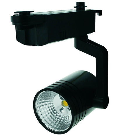 LED Track Light - 12 Watt, Black / White