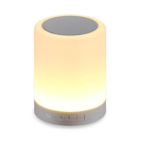 Bluetooth Speaker with LED Light