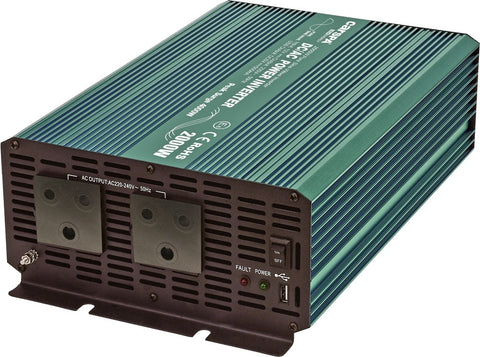 Inverter - 1500W Pure Sine Wave Inverter