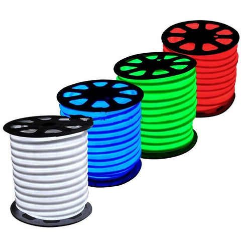 220V LED Neon Flex - Cool White / Warm White / Green / Red / Blue / RGB