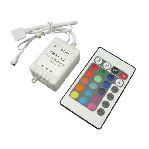 LED Strip Light - RGB IR Controller