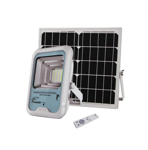 Remote Controlled Solar LED Floodlight - High Power 25W / 50W / 75W