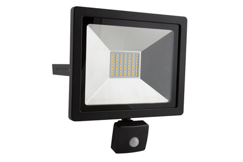 LED Flood Light - 30W Motion Sensor