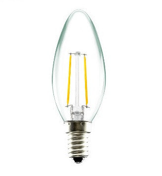 LED Candle - Dimmable 4W Filament
