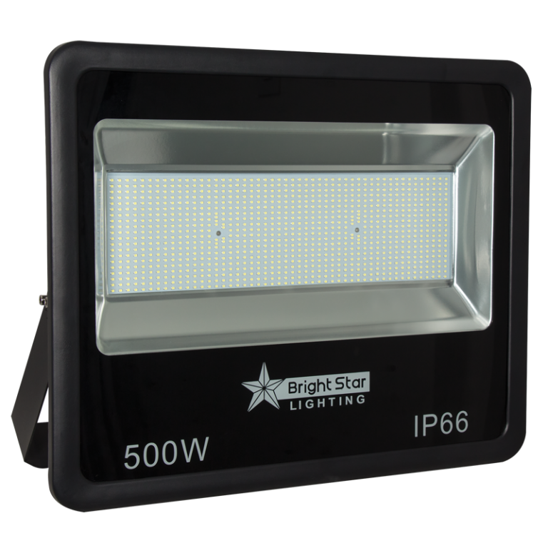 LED Floodlight - 500W Black