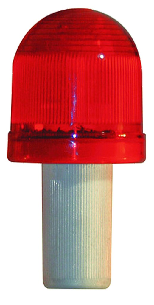 Red LED Light for Safety Cone