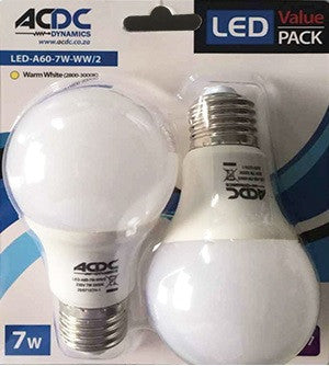 LED Bulb - 5W / 7W E27 Value Pack
