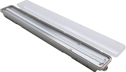 LED Garage Light - Weatherproof LED Tube with Motion Sensor