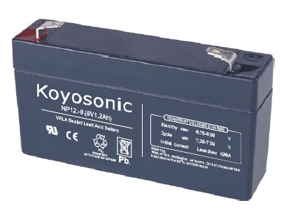 Rechargeable Batteries 6V - 1.2 AH / 3.25 AH / 4 AH