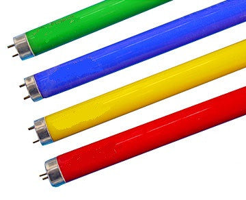 T8 LED Tube - Green / Red / Yellow / Blue