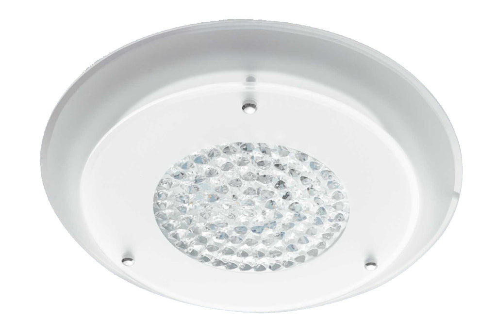 LED Ceiling Light - 12W & 15W Round Polished Chrome 2