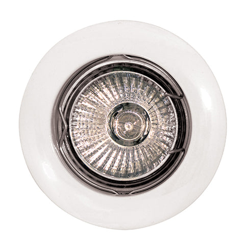 LED Downlight - Aluminium Curved Rim Downlight Holder