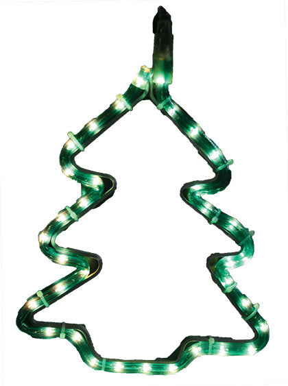 LED Christmas Lights - Green Christmas Tree