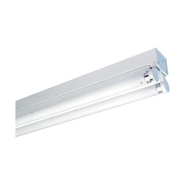 Open Channel LED Fluorescent Tube Fitting