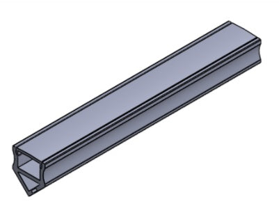 LED Profile - Dynamic 45 Degree
