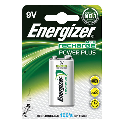 Rechargeable Batteries - 9V
