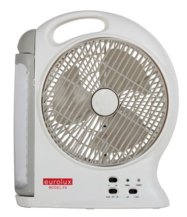 Portable Rechargeable Fan with LED Lantern