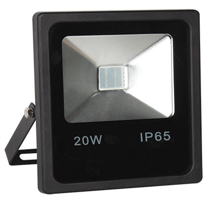 LED Colour Flood Lights - 20W Red, Green, Blue, Yellow