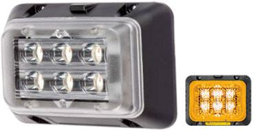 LED Beacon - 18W Flashing Red / Blue / Amber / White